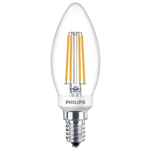 Philips DimTone LED Candle Bulb 5W SES Warm White