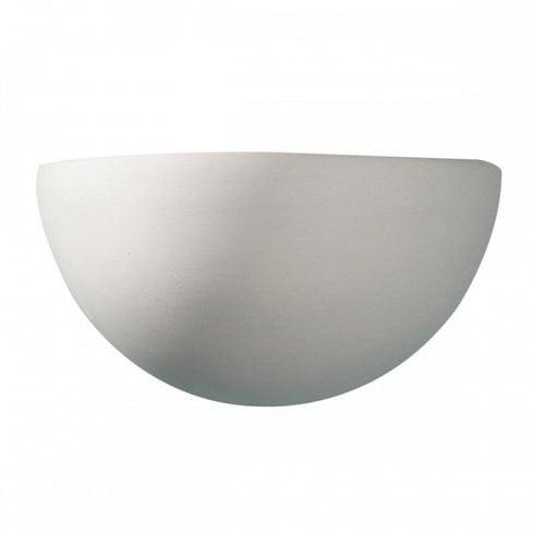 Dar Marino Surface Wall Light Unglazed Ceramic