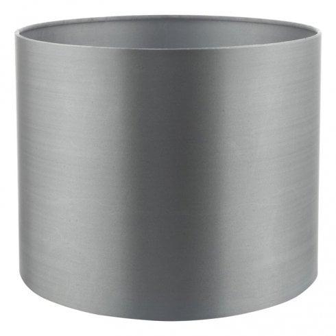 Dar Hilda 12cm Faux Silk Shade Grey