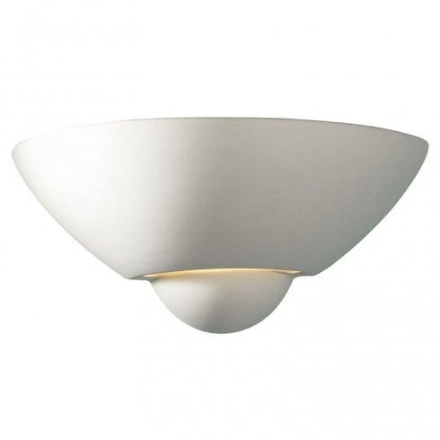 Dar Vector Surface Wall Light White Ceramic