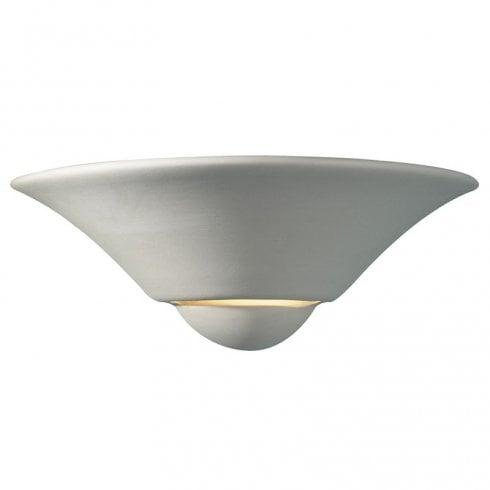 Dar Swift Surface Wall Light White Ceramic
