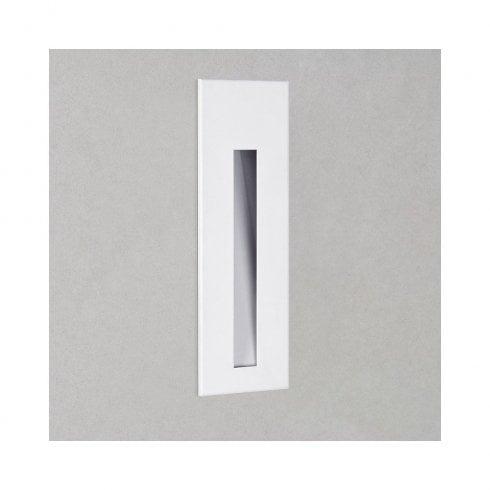 Astro Borgo 55 LED Recessed Wall Matt White
