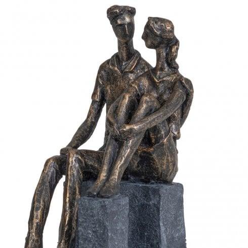 Libra Sculpture Couple in Love 703942 Bronze