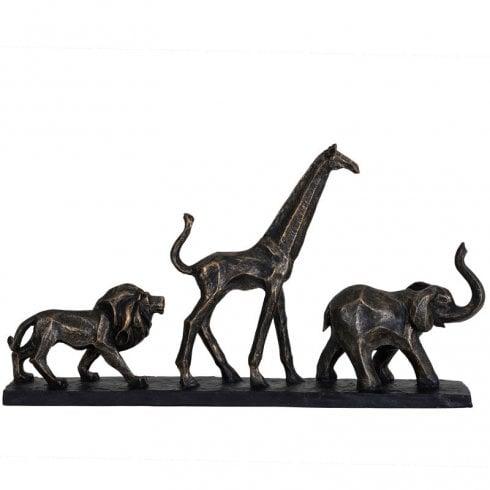 Libra Sculpture Safari 703934 Bronze