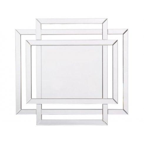 Libra Farley Tri Rectangle Frame Mirror 702997