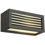 232495 Box-L E27 Square Anthracite Wall Light