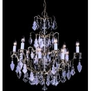 LOUVRE CP06003/12/PB Polished Brass Chandelier