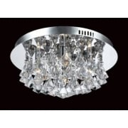PARMA CFH011025/04/CH Polished Chrome Flush Pendant