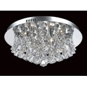 PARMA CFH011025/06/CH Polished Chrome Flush Pendant
