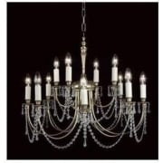 RICHMOND SMBB00112/PB/CRY Polished Brass With Crystal Detail Pendant