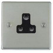 Hartland 73US5B Bright Chrome 1 gang 5A Unswitched Socket