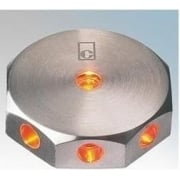 ML02 AMBER Stainless Steel LED Wall Light Mini