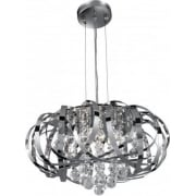 Tilly 6975-5CC Chrome With Crystal Detail Pendant