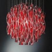 Axo Aura SPAURA60RSCRE27 Red Pendant Ceiling Light