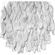 Axo Aura SPAURA60CSCRE27 Crystal Pendant Ceiling Light