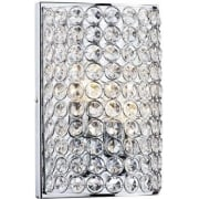Frost FRO0950 Polished Chrome 2 Light Wall Fitting