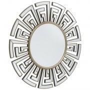 Libra Claridge 235256 Round Art Deco Mirror