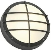 Bulan Grid 229085 Round Anthracite Wall Light