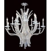 ECLIPSE CO012092/16/CH Polished Chrome With Crystal Detail Chandelier