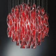 Axo Aura SPAURA60RSORE27 Red Ceiling Light