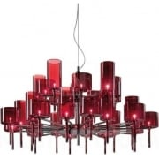 Axo Spillray SPSPIL30RSCR12V Red Pendant Ceiling Light