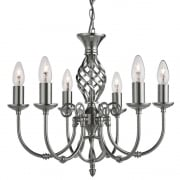 Searchlight Electric Zanzibar 4489-6 Pendant Ceiling Light
