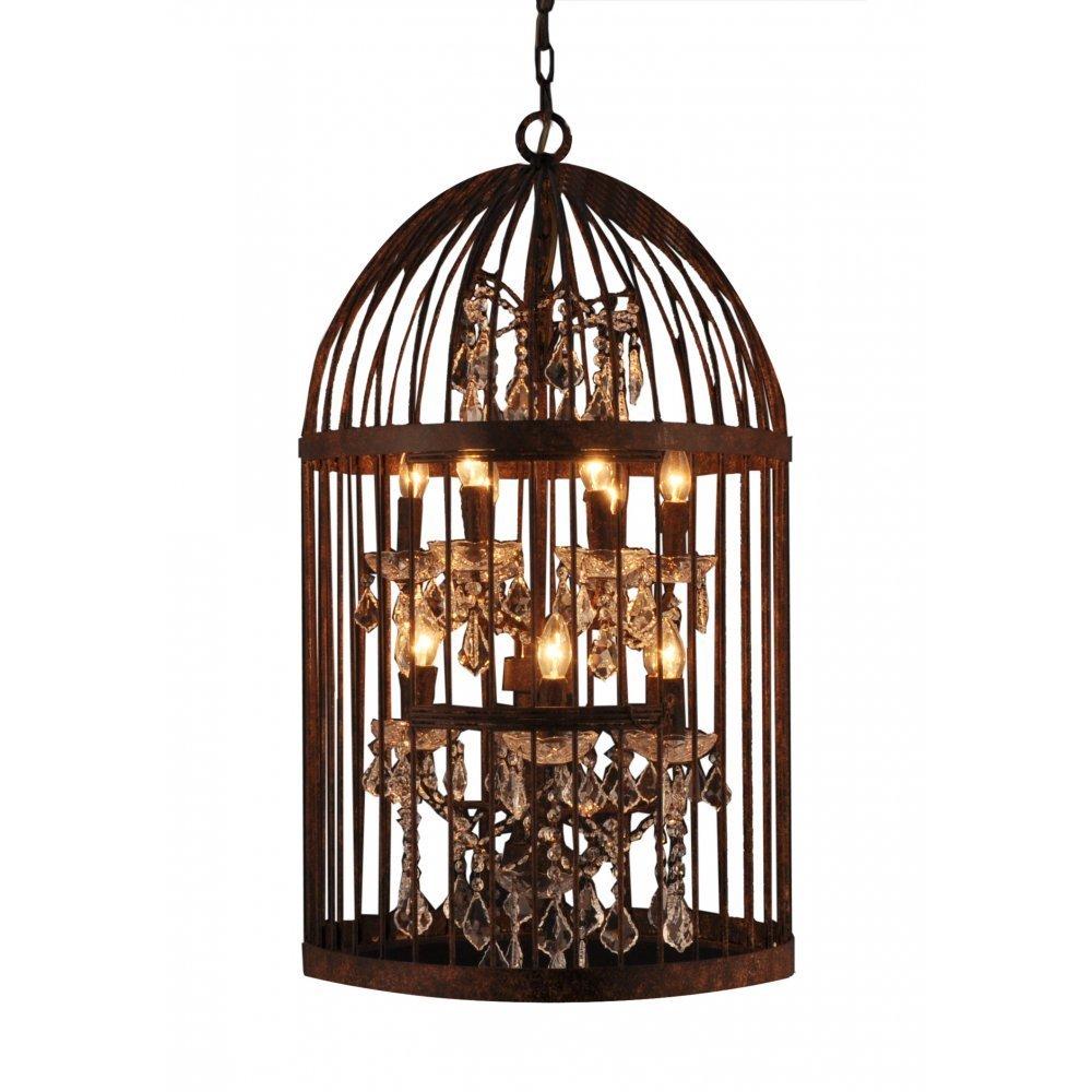 Libra Company Bird Cage 036178 Antique Bronze Lantern