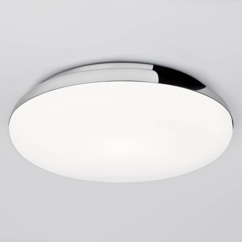 Astro Lighting Altea 0586 Flush Ceiling Light Chrome With Opal Gl Ip44