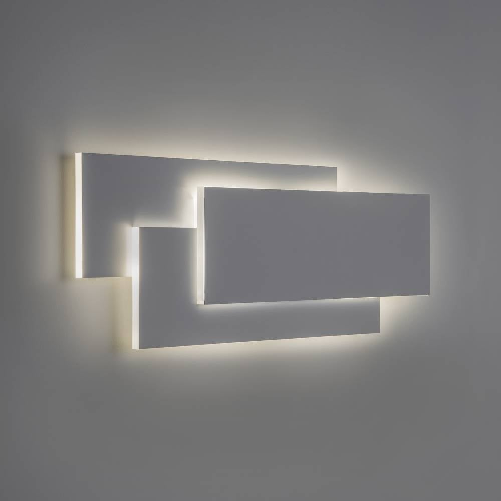 Astro Lighting Edge 560 7385 Modern Surface Wall Light White Paintable