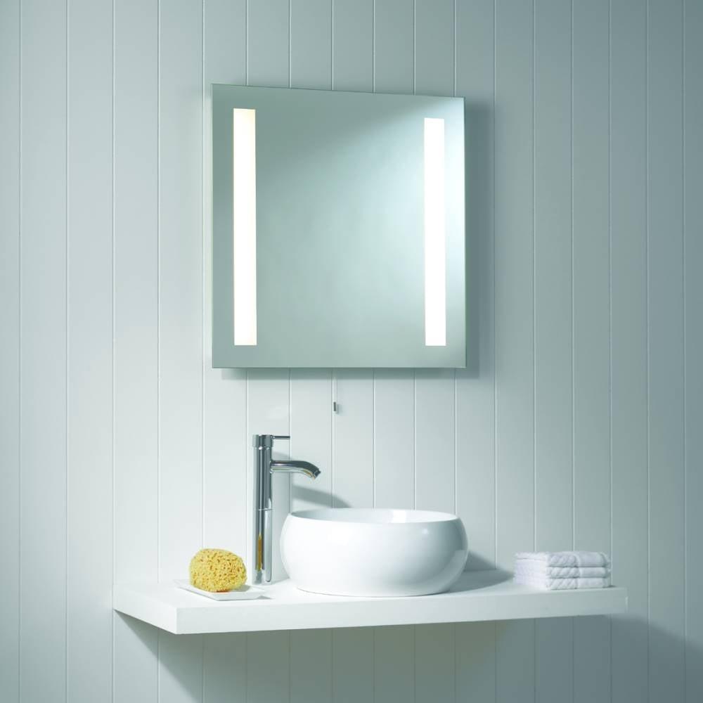 Astro Lighting Galaxy 0440 Mirror finish Square Bathroom illuminated Mirror light