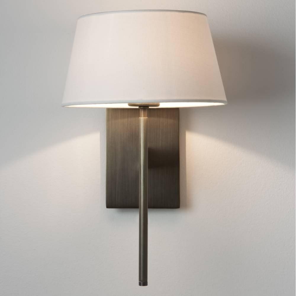 Astro Lighting 0940 San Marino Solo Wall Light In Bronze