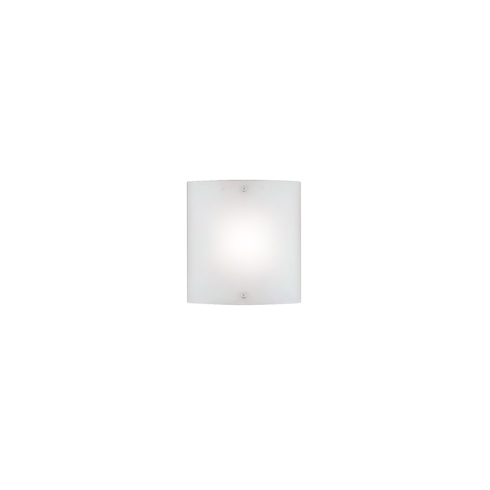 Square Chrome Wall Lights : Searchlight Electric 1087-1CWL Curved Square Chrome With Frosted Glass Wall Washer Light ...