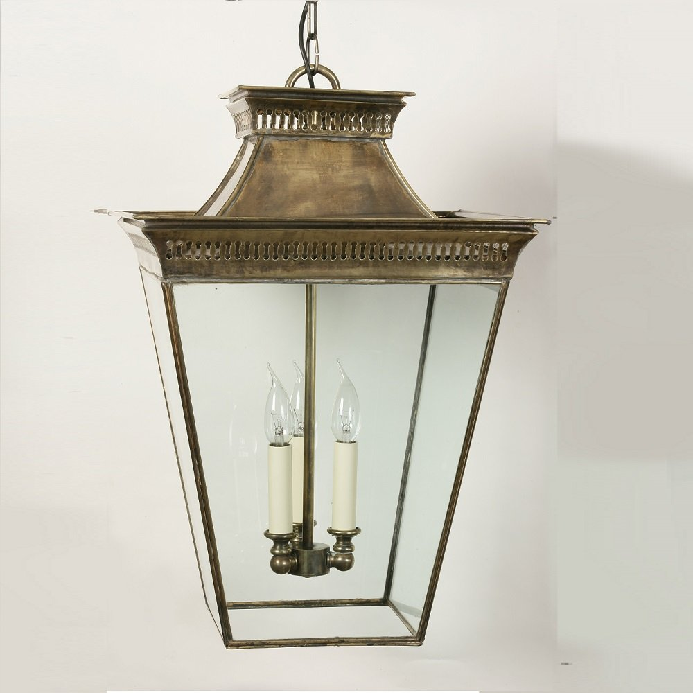 The Limehouse Lamp Company Pagoda 492 Light Antique Pendant The Limehouse L
