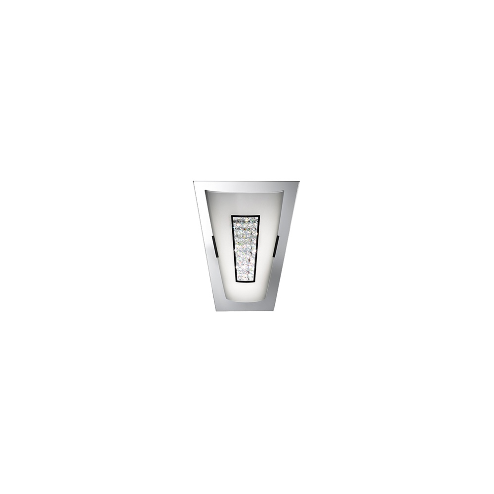 Searchlight Electric Wall 3773 Chrome And Crystal Wall Light - Searchlight Electric from ...